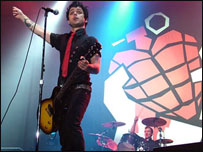 Lead singer Billie Joe Armstrong