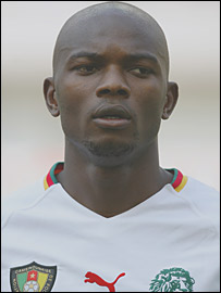 Cameroon's Pierre Wome