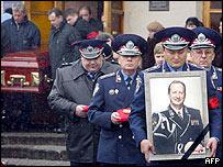 Funeral of Yuri Kravchenko