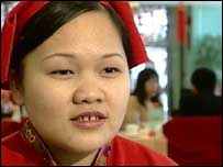 Yang Ming, Trainee Waitress