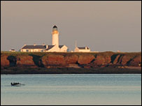 Langness Lighthouse - courtesy of manxscenes.com