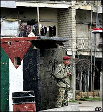 Syrian soldier in Lebanon