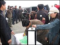 Похороны убитого китайского бизнесмена