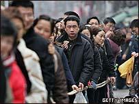 People in Shanghai