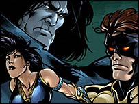AK Comics characters (copyright AK Comics)