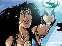 AK Comic's Jalila (copyright AK Comics)