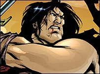 AK Comic's Rakan (copyright AK Comics)