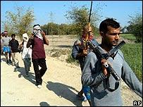 Gunmen in Bihar