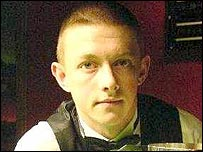 Northern Ireland snooker player Mark Allen