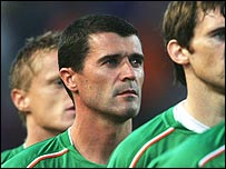 Roy Keane has announced his retirement from international football
