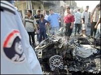 Attack on Iraqi minister Saad Naif al-Hardan's convoy