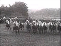 The Derby moments before Emily Davison's death