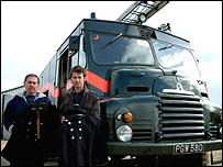 Nigel (left) and Adam Young