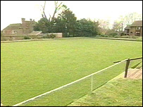 The bowling green where the caller said Lord Lucan's body is