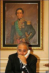 Carlos Mesa, presidente de Bolivia