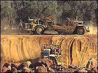 BHP Billiton diggers