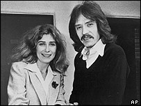 Debra Hill and John Carpenter in 1980