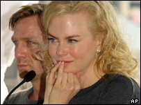 Nicole Kidman and Daniel Craig