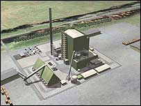 Biomass plant at Lockerbie - Image courtesy of E.ON