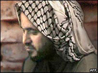 Photograph purported to show Jordanian-born militant Abu Musab al-Zarqawi
