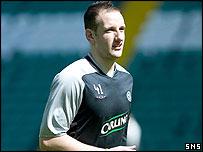 Celtic defender John Kennedy
