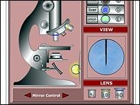 interactive microscope