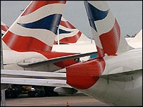 BA blamed high fuel costs for a 40% drop in quarterly profits