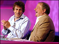 John Sergeant (right) and Rod Liddle