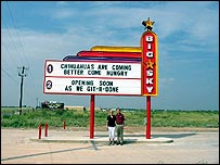 Big Sky drive-in in Texas