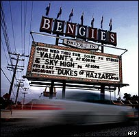 Bengies Drive-in near Baltimore, Maryland
