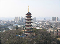 Wenzhou skyline