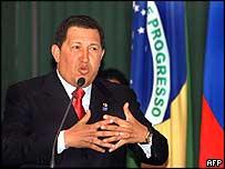 Venezuelan President Hugo Chavez (archive)
