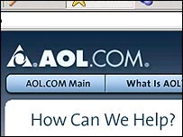 AOL screenshot