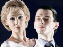 Dancer's Zara Deakin and Sean Ganley as Princess Diana and Charles