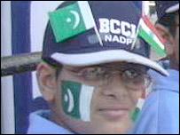Nine-year-old Shivam,  cricket fan from Chandigarh