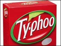 Typhoo tea packet