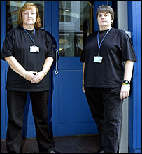 Door staff. Picture from the Security Industry Authority  sc 1 st  BBC News & BBC NEWS | UK | Scotland | Bouncer watchdog begins its work