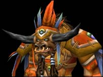 Tauren chieftain, Blizzard