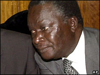 Former Kenyan cabinet minister Nicholas Biwott, a key witness in the inquiry