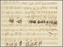 The Beethoven manuscript