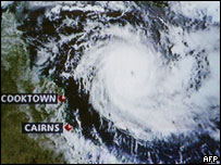 Cyclone Ingrid, 8 March