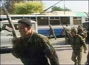 Soldiers in Nalchik