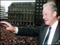 Willy Brandt in Leipzig
