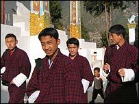 Bhutanese in Thimphu