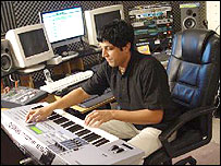 Image of Srikanth Devarajan composing