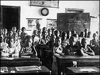Congolese children in school (Royal Museum for Central Africa)