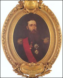 Portrait of Belgium's King Leopold II (Royal Museum for Central Africa)