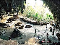 Lian Bua cave on Flores, Mike Morwood