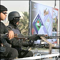 Iraqi security forces in Baghdad