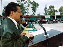 Alcalde de Nezahualcóyotl, Luis Sánchez Jiménez.